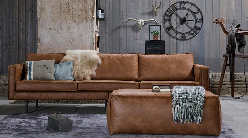 Sofa w industrialnym stylu